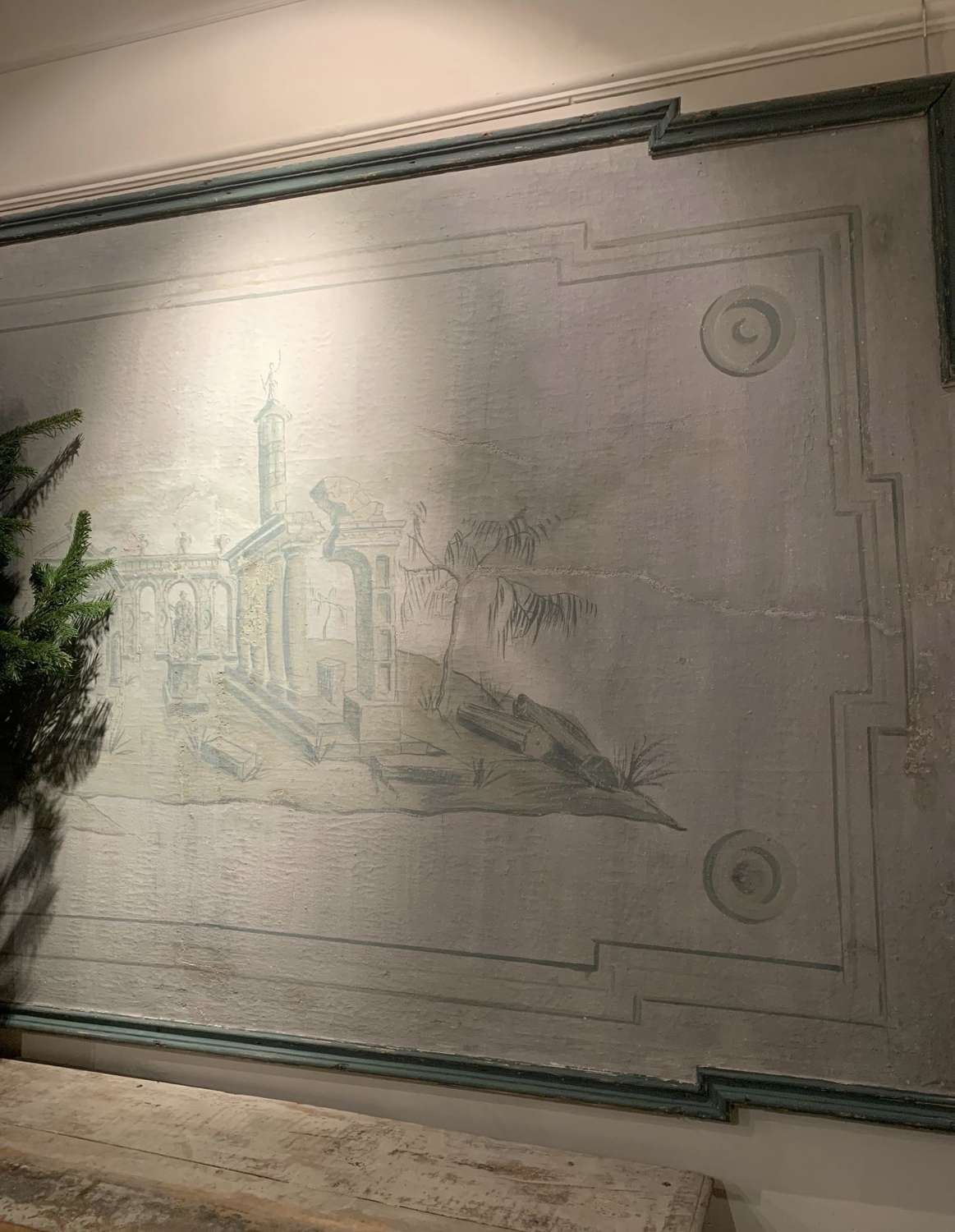 Italian Mural from the 1900s