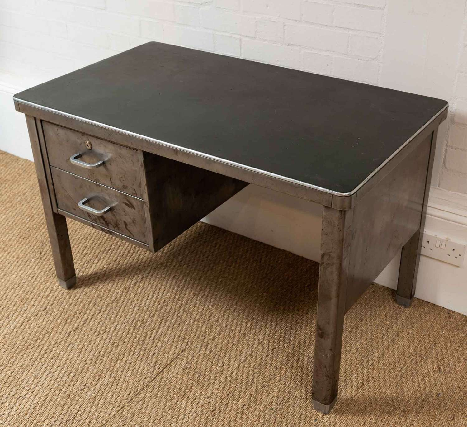 1950s french industrial desk