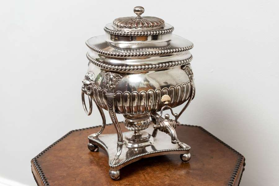 Circa 1800 sheffield plate tea urn