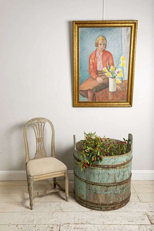 18th century Swedish rustic barrels