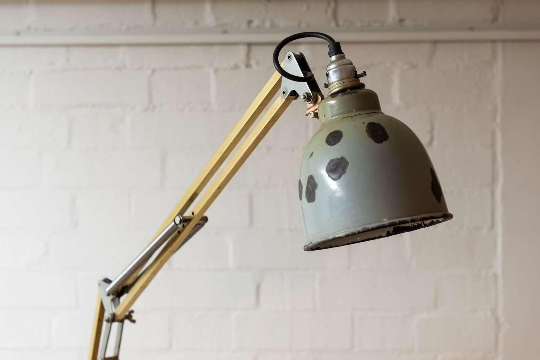 Mid 1930's Herbert Terry Anglepoise floor lamp